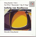 Beethoven: String Quartets Vol. 4/Alexander String Quartet