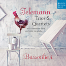 Telemann: Trios & Quartets with Transverse Flute and Viola da gamba/Bassorilievi