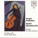 Shostakovich/Prokofiev: Music For Cello And Piano/Emil Klein