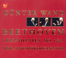 Ludwig van Beethoven: Symphonies Nos. 1 & 2/Günter Wand