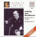 Beethoven: Symphonies Nos. 3 & 4/David Zinman