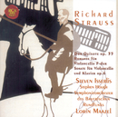 R.Strauss: Don Quixote - Complete Works for Violoncello/Steven Isserlis