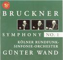 Bruckner: Symphony No. 1/Günter Wand