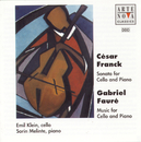 Franck: Sonata for Cello and Piano/Fauré: Various pieces/Emil Klein