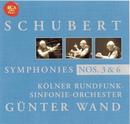 Schubert: Symphony No. 3 & 6/Günter Wand