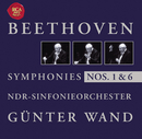 Beethoven: Symphonise Nos. 1 + 6/Günter Wand