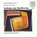 Beethoven: String Quartets Vol. 2 / Op. 18/2 And Op. 18/6/Alexander String Quartet