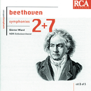 Beethoven: Symphonies Nos. 2 & 7/Günter Wand