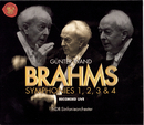J. Brahms: Symphonies Nos. 1, 2, 3 & 4/Günter Wand