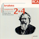 Brahms: Symphonies Nos. 2 & 4/Günter Wand