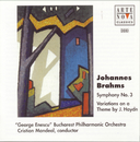 Brahms: Symphony No. 3/Variations On A Theme By J. Haydn/Cristian Mandeal