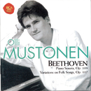 Beethoven: Sonate op. 109/Themes And Variations On Folk Songs op.107/Olli Mustonen