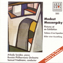 Mussorgsky: Pictures at an Exhibition (Piano & Orchestral Version)/Arkady Sevidov