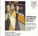 Mozart: Flute Concertos, KV 313 & KV 314; Andante For Flute & Orchestra KV 315/Europa Symphony