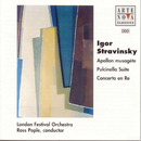 Stravinsky: Apollon Musagete / Pulcinella Suite/Ross Pople