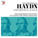 Haydn: Symphonies Nos. 27, 32, 34 & 35/Max Goberman