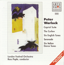 Warlock: Capriol Suite/The Curlew/6 Italian Dances/6 English Tunes/Ross Pople