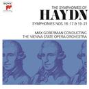 Haydn: Symphonies Nos. 16-17 & 19-21/Max Goberman