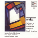 Britten: Simple Symphony Op.1 / Lachrymae Op.48/Ross Pople