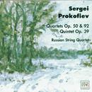 Prokofiev: Quartets op.50, op.92/Quintet op.39/Russian Quartet