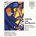 Beethoven: Trios for Piano, Clarinet and Cello op.38+11/Alfredo Perl