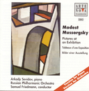 Mussorgsky: Pictures at an Exhibition--Piano & Orchestral Versions/Arkady Sevidov