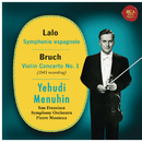 Lalo: Symphonie espagnole, Op. 21 - Bruch: Violin Concerto No. 1, Op. 26/Yehudi Menuhin