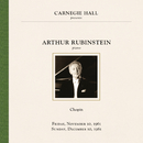 Arthur Rubinstein at Carnegie Hall New York City, November 10 & December 10, 1961/Arthur Rubinstein
