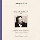 Lazar Berman at Carnegie Hall, New York City, March 11, 1979/Lazar Berman