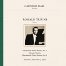 Ronald Turini at Carnegie Hall, New York City, January 23, 1961/Ronald Turini