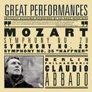 """Mozart: Symphonies Nos. 28, 29 & 35 """"Haffner""""/Claudio Abbado"""