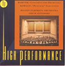"""Bartok: Concerto For Orchestra; Kodaly: """"Peacock"""" Variations/Erich Leinsdorf"""