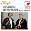 "Haydn: ""London"" Trios Nos. 1-4, Hob. IV: 1-4; Duets for Two Flutes/Jean-Pierre Rampal"
