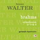 Brahms : Symphonies n° 3 et 4/Bruno Walter
