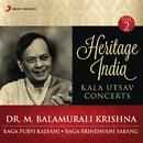 Heritage India (Kala Utsav Concerts, Vol. 2) [Live]/Dr. M. Balamurali Krishna