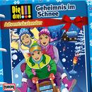 Adventskalender - Geheimnis im Schnee/Die drei !!!