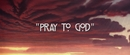 Pray to God feat.HAIM/Calvin Harris