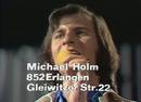 Nur ein Kuss, Maddalena (ZDF Hitparade 15.06.1974) (VOD)/Michael Holm