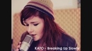 Breaking Up Slowly (Lyric Video)/Kato