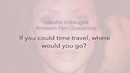 If You Could Time Travel.../Natalie Imbruglia