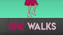 The Way She Walks (Lyric Video)/Whistle Back & Linguistics