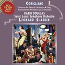 Corigliano: Tournaments & Fantasia on an Ostinato & Elegy & Concerto for Piano and Orchestra/Leonard Slatkin