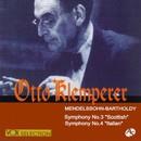 メンデルスゾーン:交響曲  第3・4番「スコットランド」「イタリア」/オットー・クレンペラー(指揮)/ウィーン交響楽団