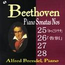 ベートーヴェン:ピアノ・ソナタ 第25・26・27・28番/アルフレッド・ブレンデル