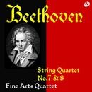 ベートーヴェン:弦楽四重奏曲  第7番&第8番/ファイン・アーツ四重奏団