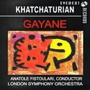 ハチャトゥリアン:バレエ組曲「ガイーヌ」/ロンドン交響楽団