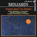 ベンジャミン:幻想的協奏曲/ロンドン交響楽団