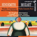 ヒンデミット&モーツァルト:ヴァイオリン協奏曲 初演盤&第3番/ロンドン交響楽団