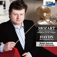 モーツァルト:ホルン協奏曲 第 2番, 交響曲 第 38番「プラハ」, ハイドン:ホルン協奏曲 第 1番