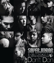 THE SECOND ALBUM 『Don't Don』/SUPER JUNIOR
